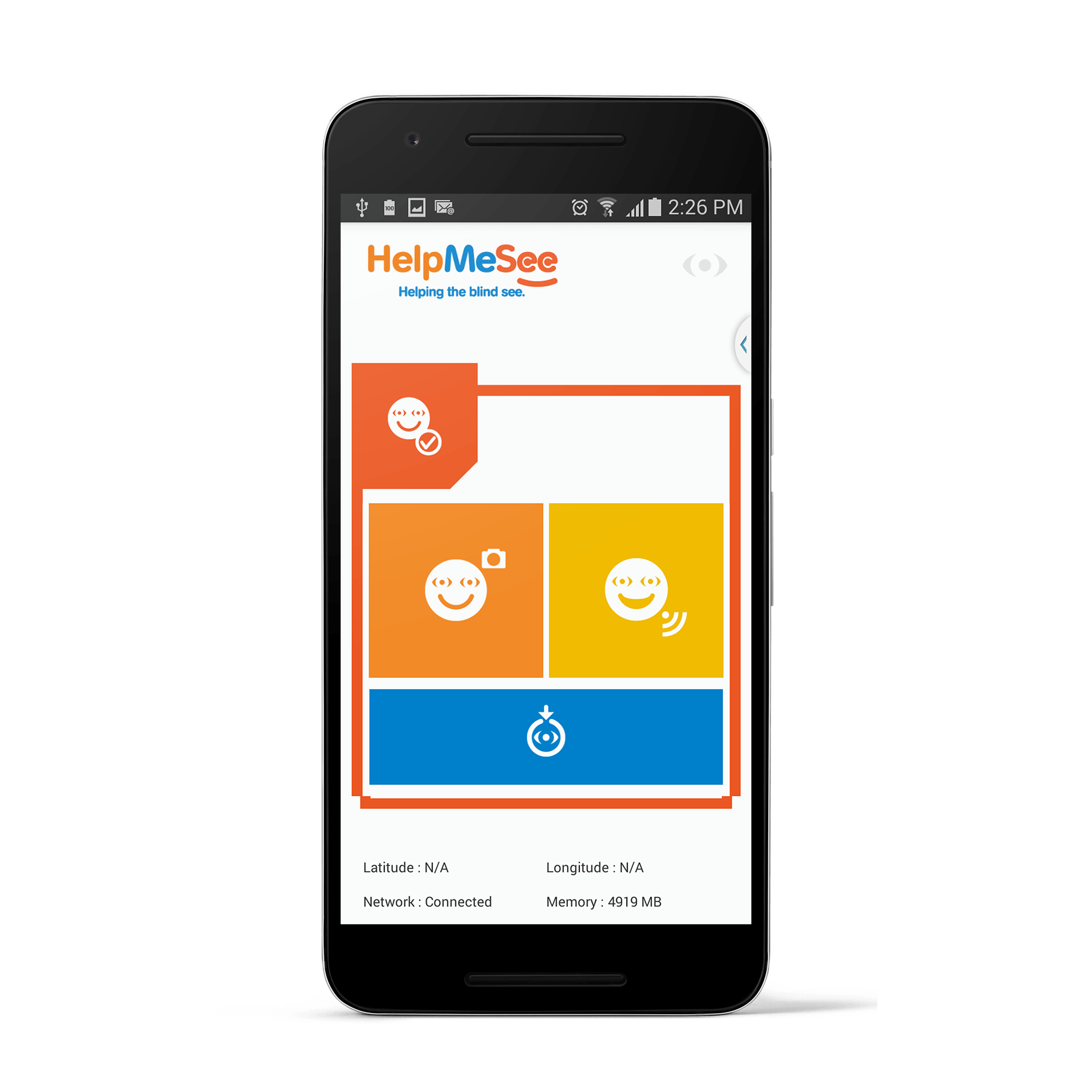 HelpMeSee Reach App image